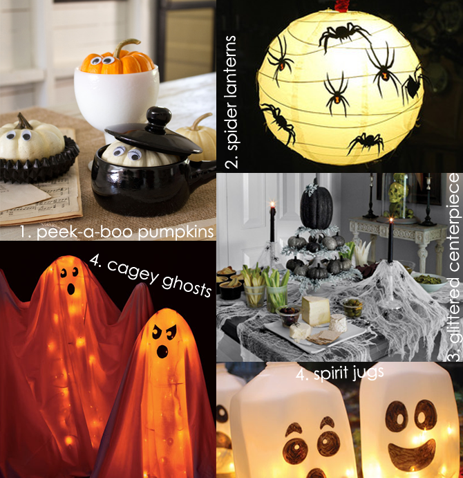 Halloween decorations you can make yourself elegant - Halloween decorations to make yourself ...