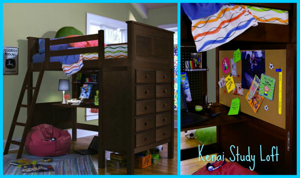 Loft Bed With Desk Costco