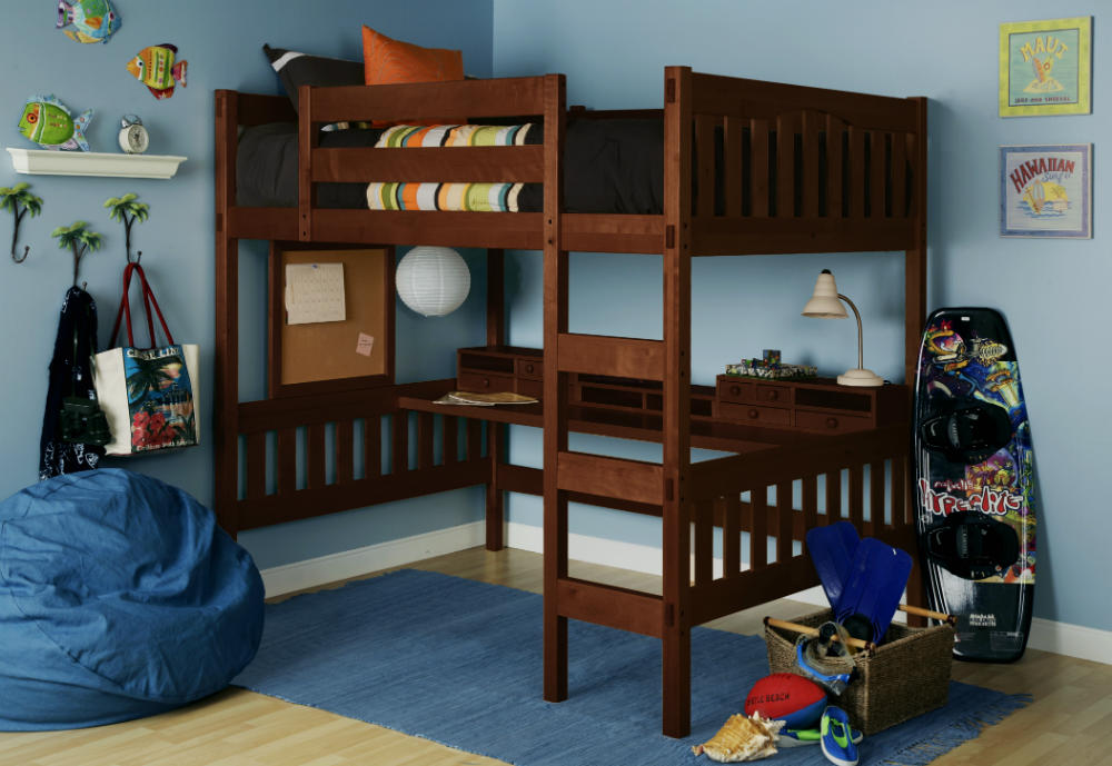 Introducing the Gabriel Full Loft Bed in Coffee | Epoch Design