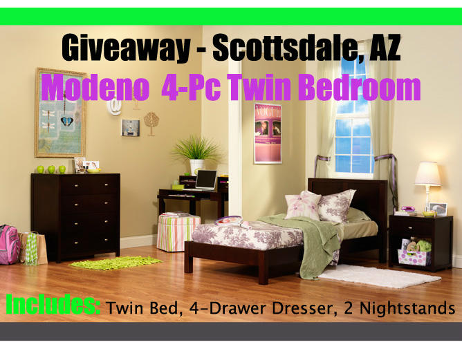 Modeno 4 Pc Giveaway Scottsdale