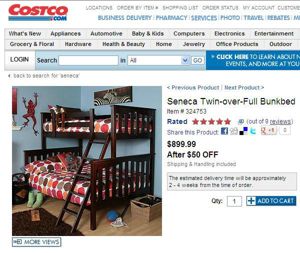 Through April 15 You Can Receive Up To 150 Off On The Top Rated Seneca Collection At Costco