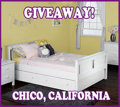 GIVEAWAY Jayden Full Panel Bed with Twin Trundle Bed