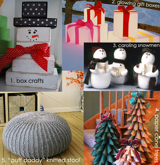 DIY Inspiration Board Winter 2012