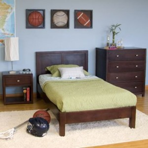 Modeno 3 Pc Twin Bedroom Set