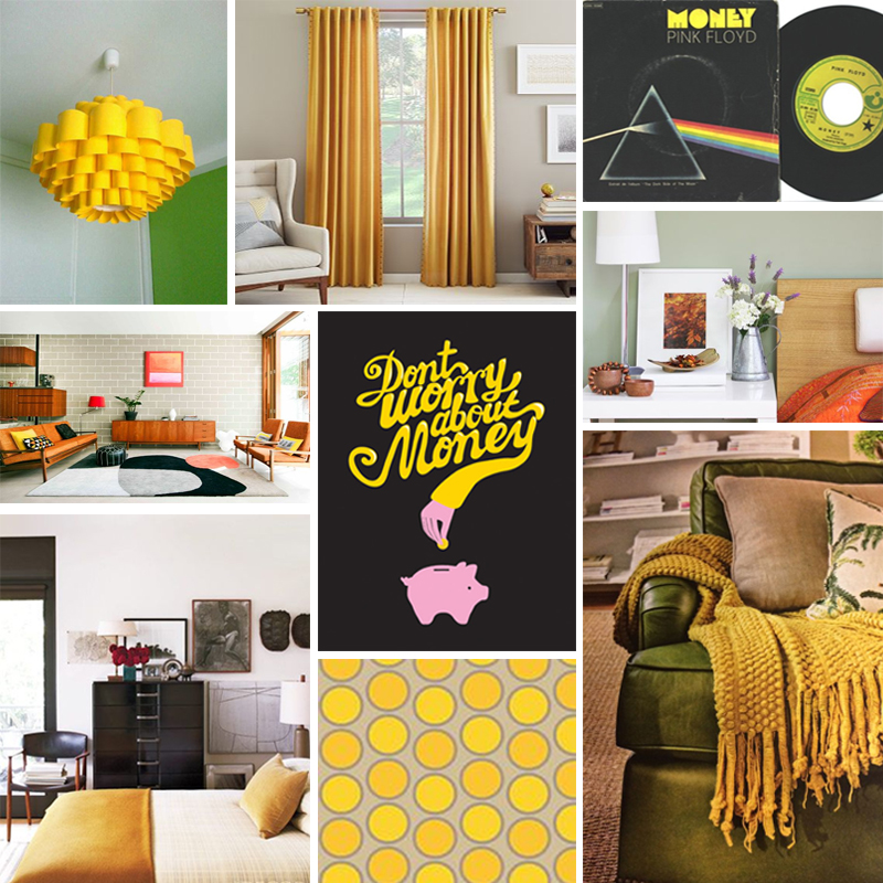 Yellow Moodboard