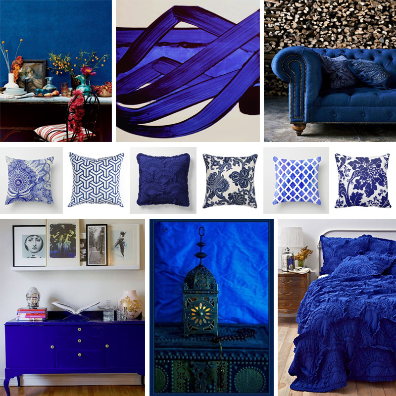 Bedroom Colors And Moods Bedroom Ideas Hello Kitty Bedroom Colors Ideas Bedroom Aesthetic: Cobalt Blue Bedroom - A Very Blue Mood Board