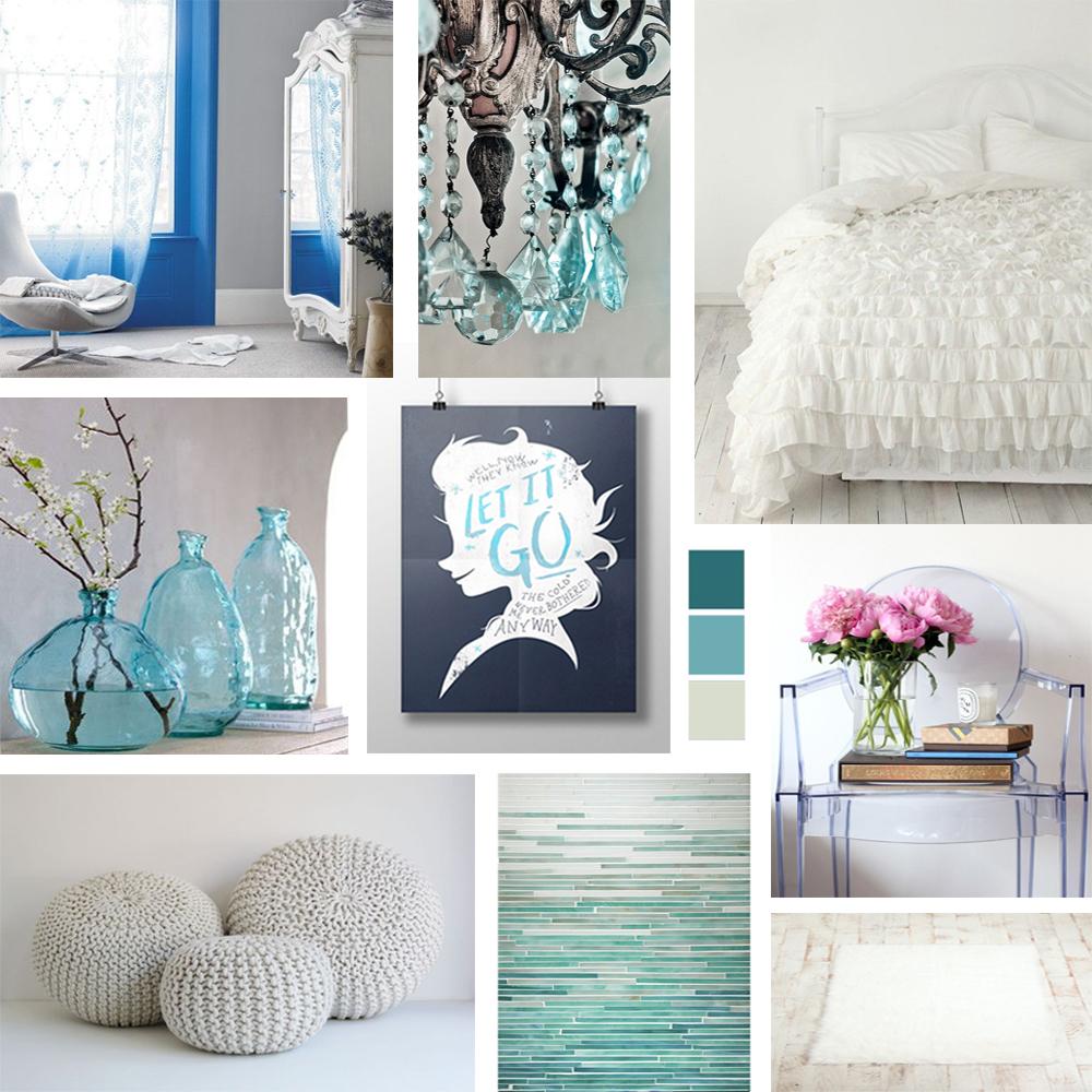 Frozen inspired bedroom - Interior Design Based On Disney S Frozen
