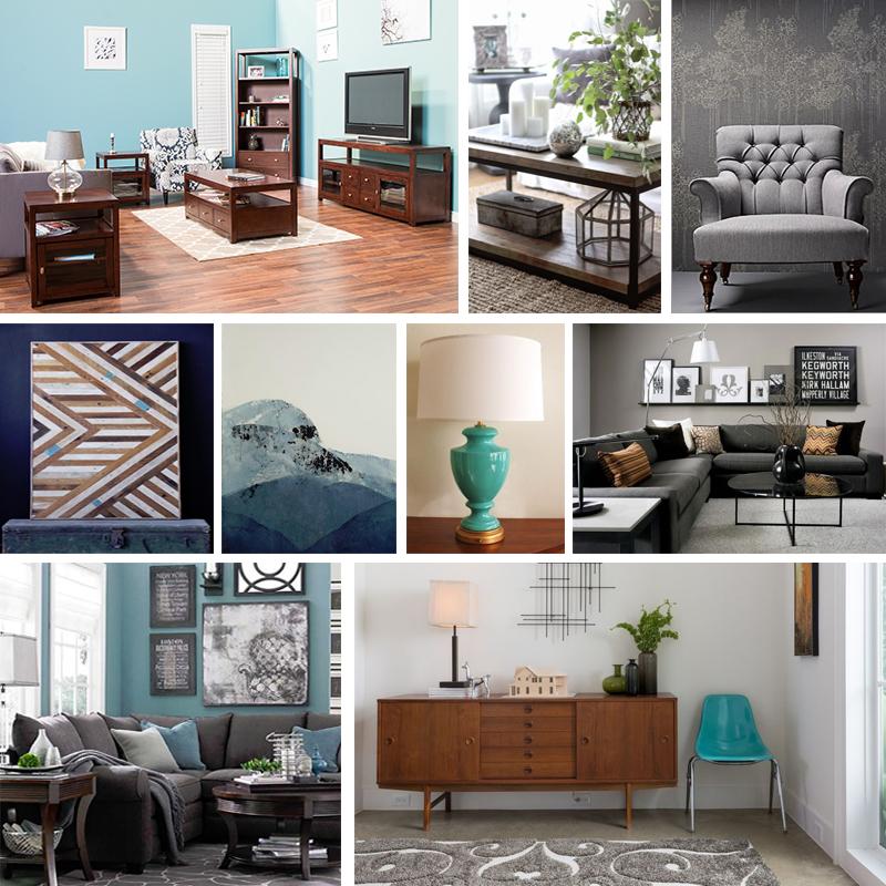 Blue And Gray Living Room Ideas Nakicphotography