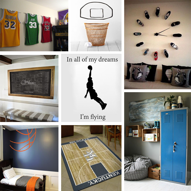 basketball decor for bedroom basketball themed bedroom march madness inspired decor 14098