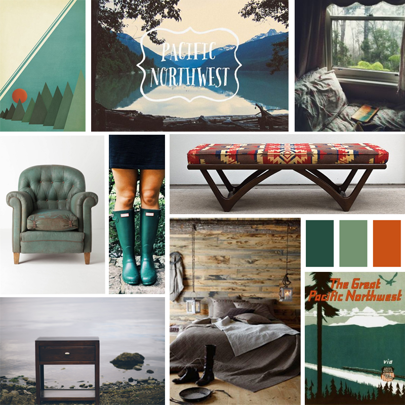 Pacific Northwest Mood Board A Comfortable And Natural Bedroom