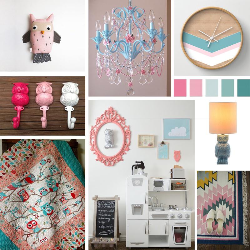 A Superb Owl Bedroom Decor Mood Board | Epoch Design