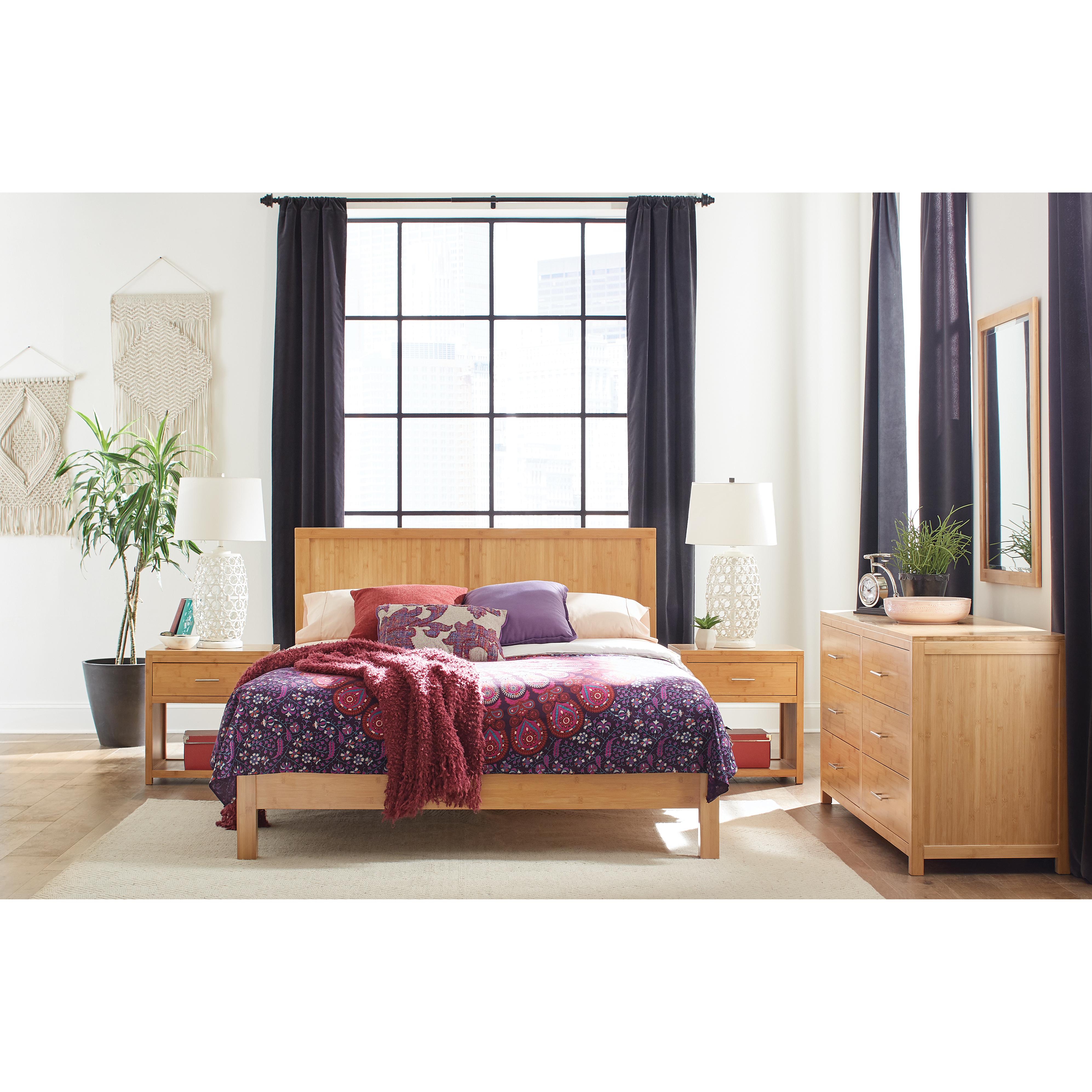 Niko Bamboo Platform Bed Epoch Design