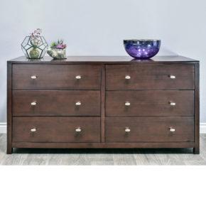 Pacifica 6-Drawer Dresser