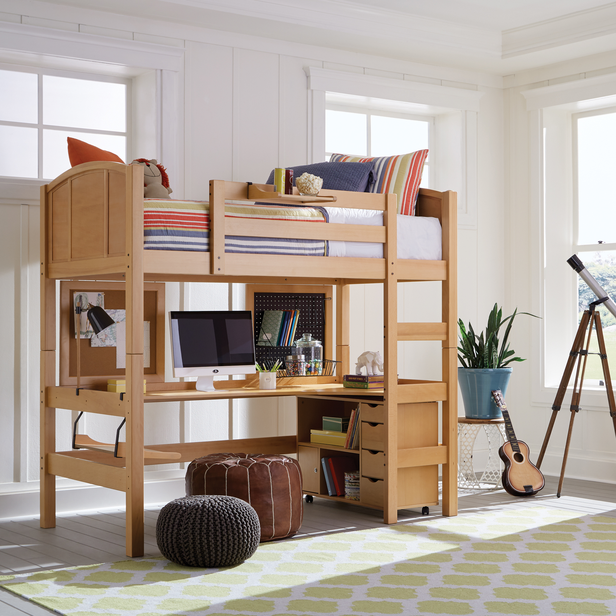 Radia Twin Loft Bed Epoch Design