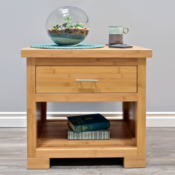bamboo nightstand, bed, bamboo bedroom, sustainable, furniture, green, Zen,craftsman, Solid wood furniture, Quality furniture, Affordable, modern furniture, sustainable furniture, durable furniture, bamboo furniture, clean, minimalist, cubist, eco friendly,