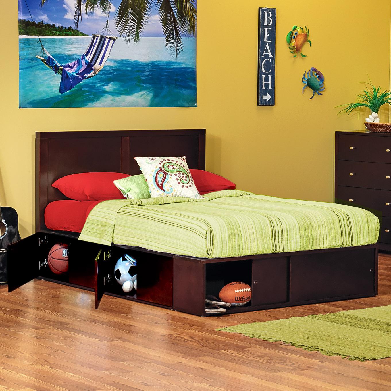 . Modeno Full Storage Bed