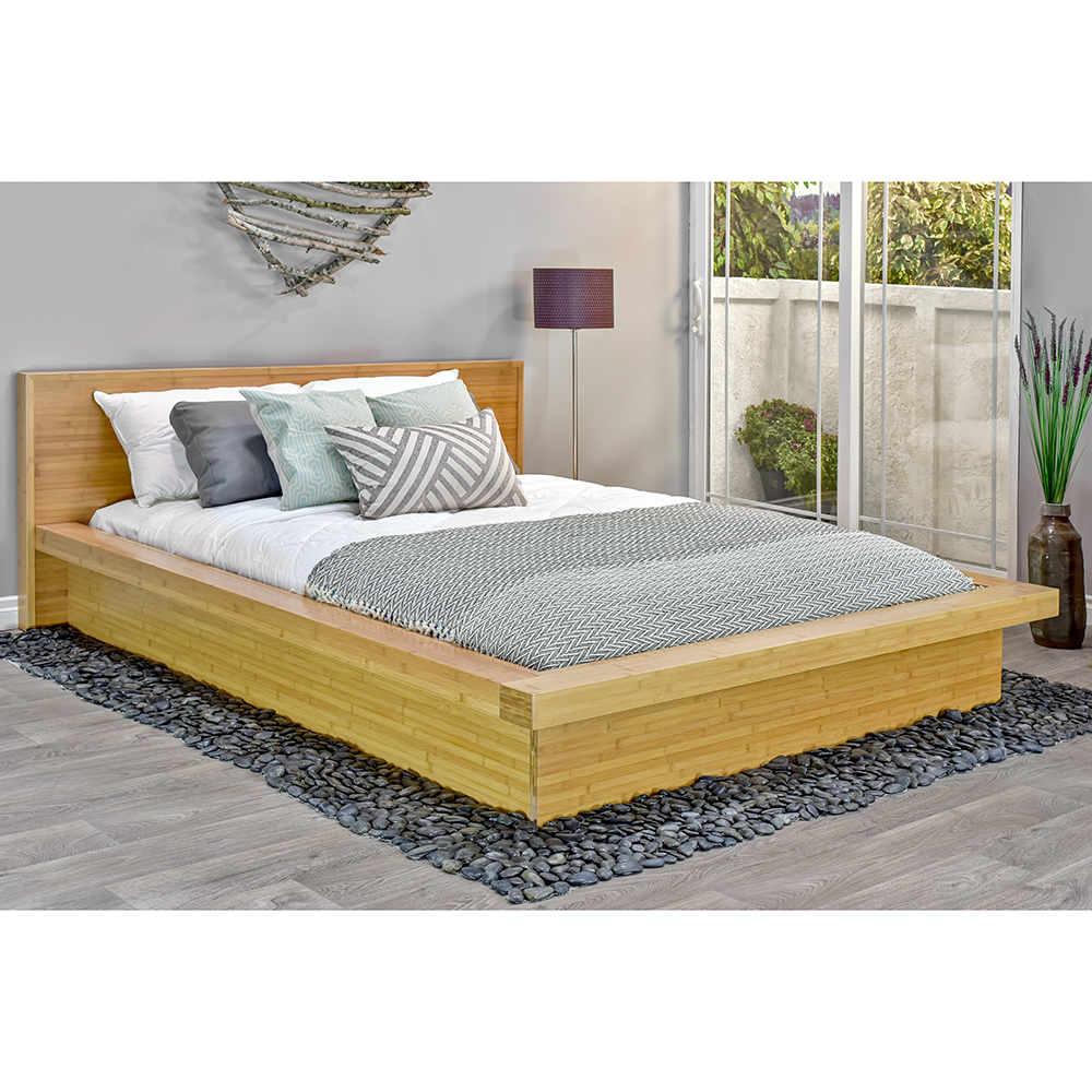 Nara Bamboo Platform Bed Epoch Design