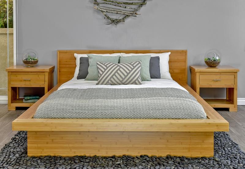 Nara Bamboo Platform Bed Slats