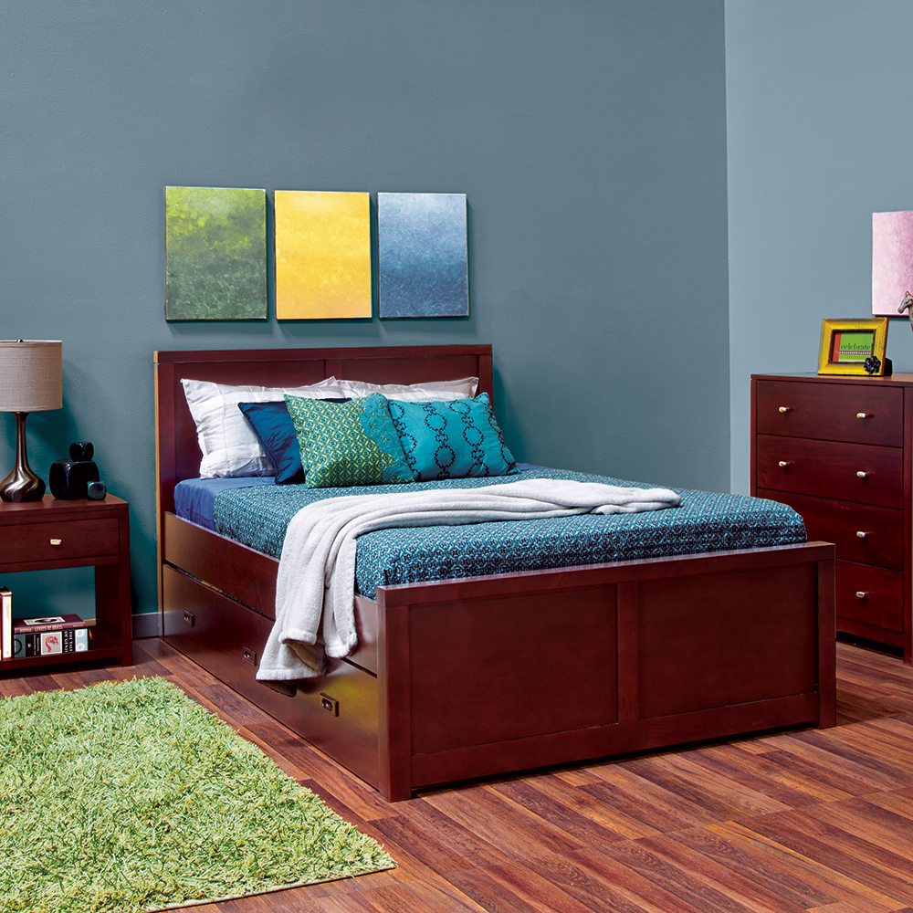 Peyton Full Trundle Storage Bed | Epoch Design