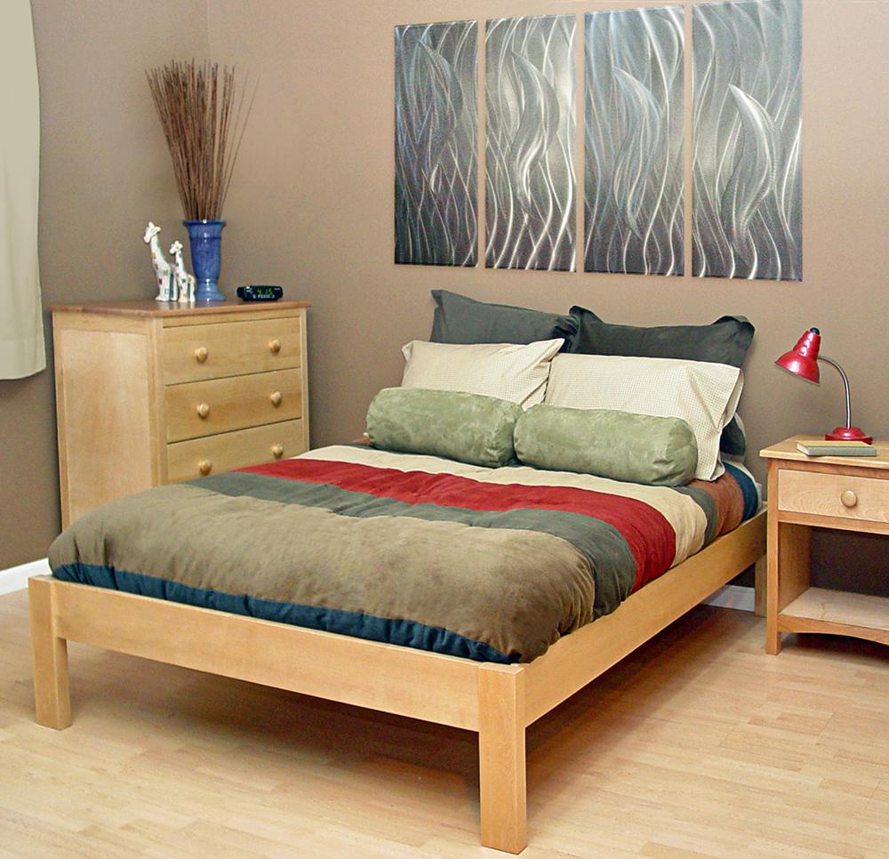 Full Nomad Platform Bed