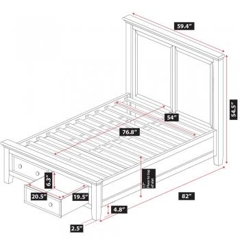 Verona Storage Bed