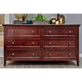 Verona 6-Drawer Dresser