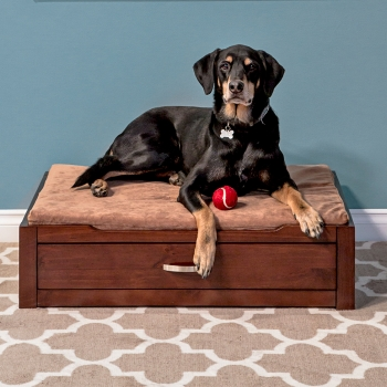 Modeno Deluxe Pet Bed in Coffee