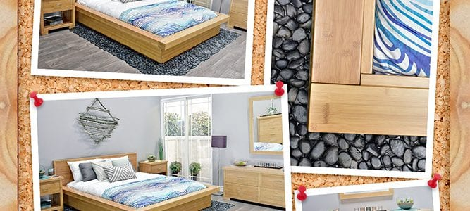 Nara Bamboo Bedroom