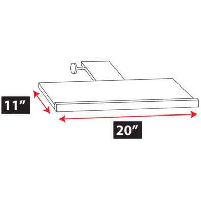 Sliding Keyboard Tray Spec