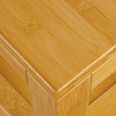 Nara Bamboo 4-Drawer Dresser Corner