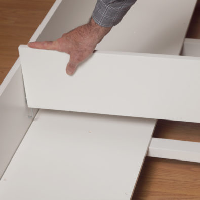 Dakota Twin Trundle Bed Drawer Divider