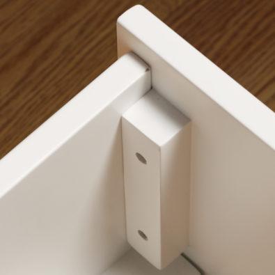 Dakota Twin Trundle Bed Drawer Corner