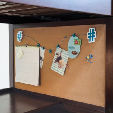 Kenai Loft Bed with Dresser