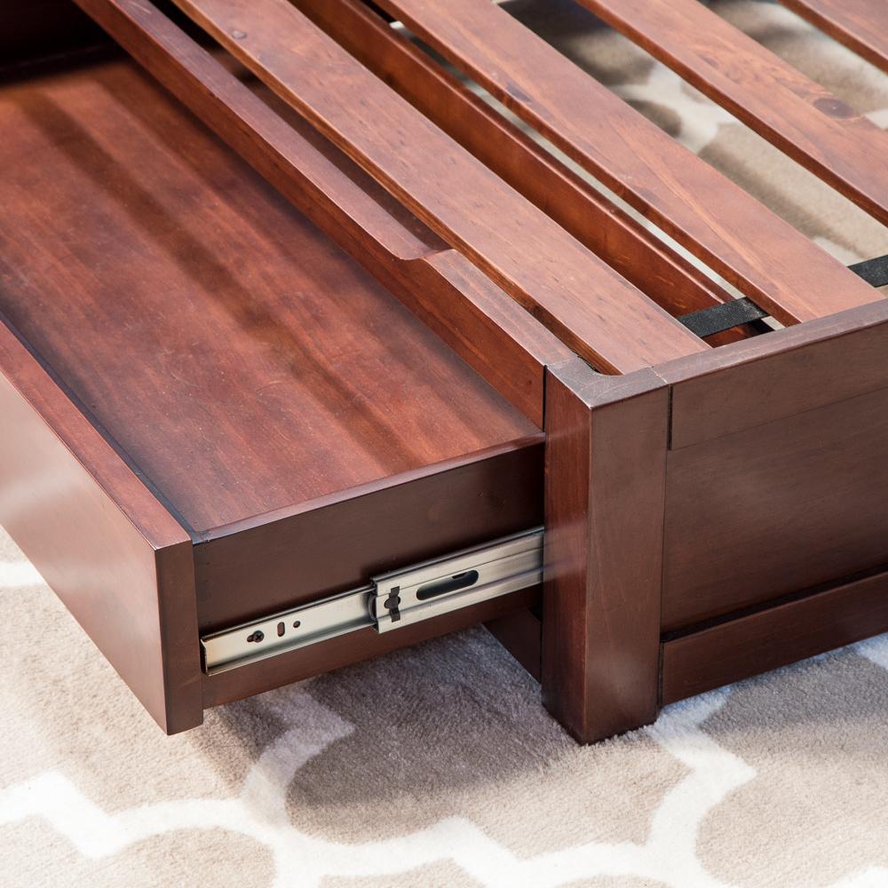 Coffee Dog Storage Bed Drawer
