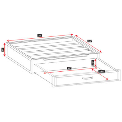 Specs for Modeno Dog Bed Deluxe