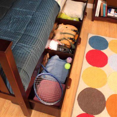 Coffee Under Bunk Storage Drawer