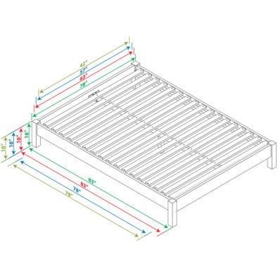 Spec Nomad Platform Bed