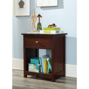 Seneca Beech Coffee Nightstand