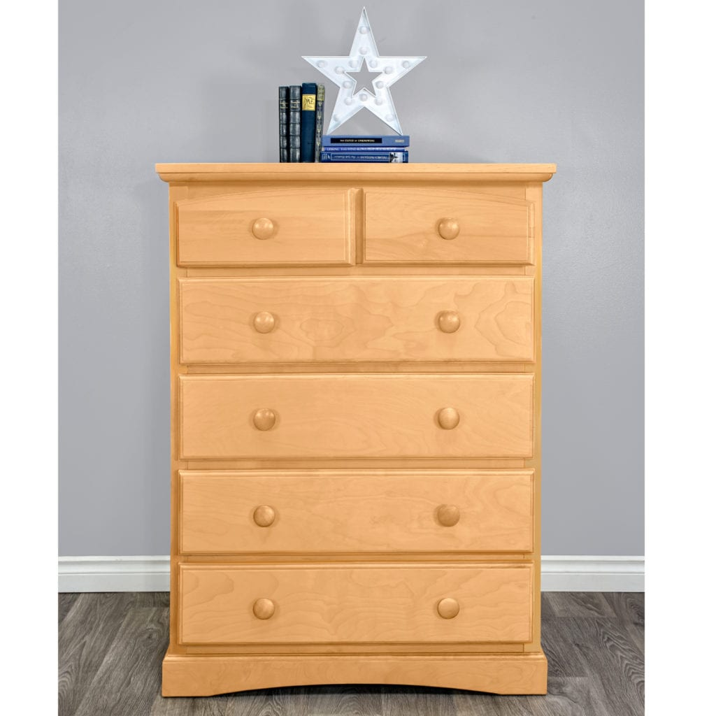 Astoria Hardwood 6 Drawer Dresser