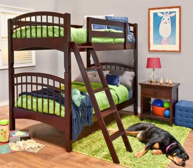 Mckenzie Hardwood Bunk Bed
