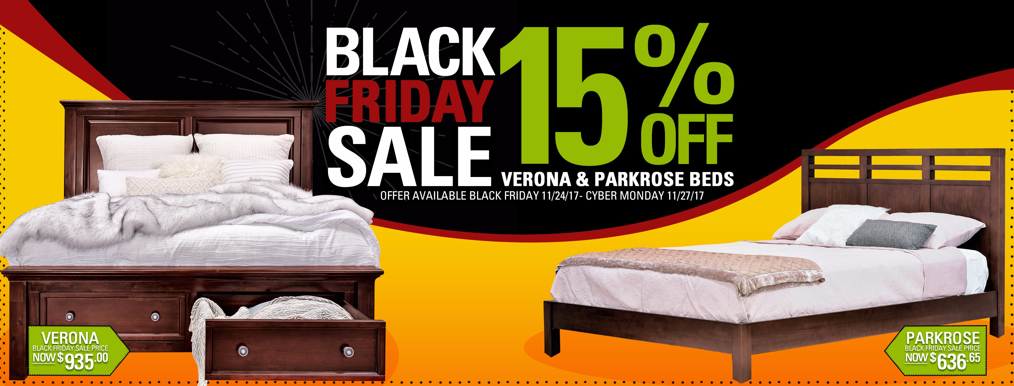 remember to make your purchase by 11 59pm on cyber monday because the sale ends at midnight  black friday cyber monday sale   save 15  off selected beds      rh   epochbydesign
