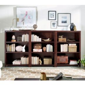 Hand made high quality eco friendly sustainably harvested wood bookshelf